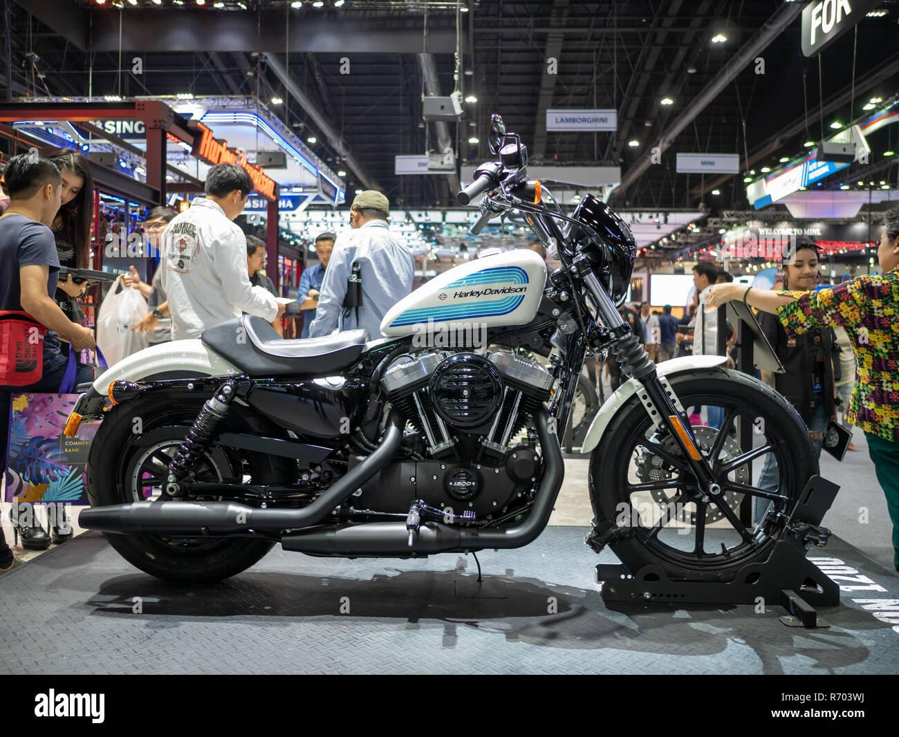 Bangkok Thailand November 30 2018 Harley Davidson Motorcycle