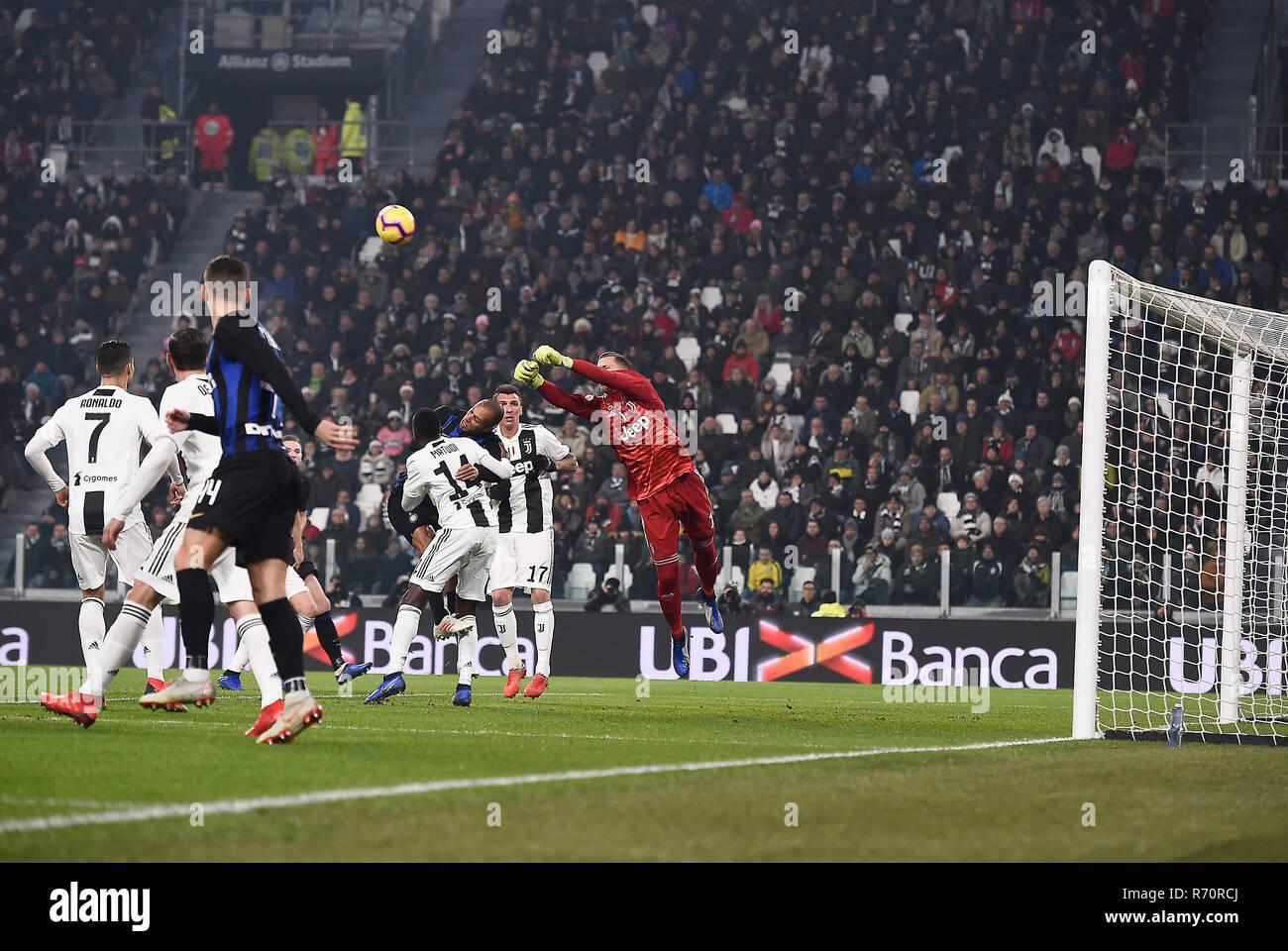 competitive price 3d60d 0148f Turin, Italy. 7th December 2018. Allianz Stadium. Nella foto ...