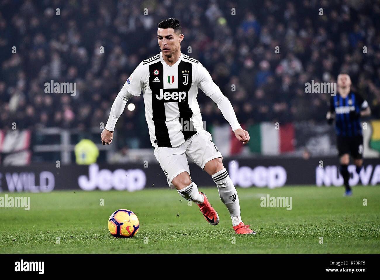 Turin Italy 7th December 2018 Juventus Vs Inter Campionato Di Calcio Serie A Tim 2018 2019