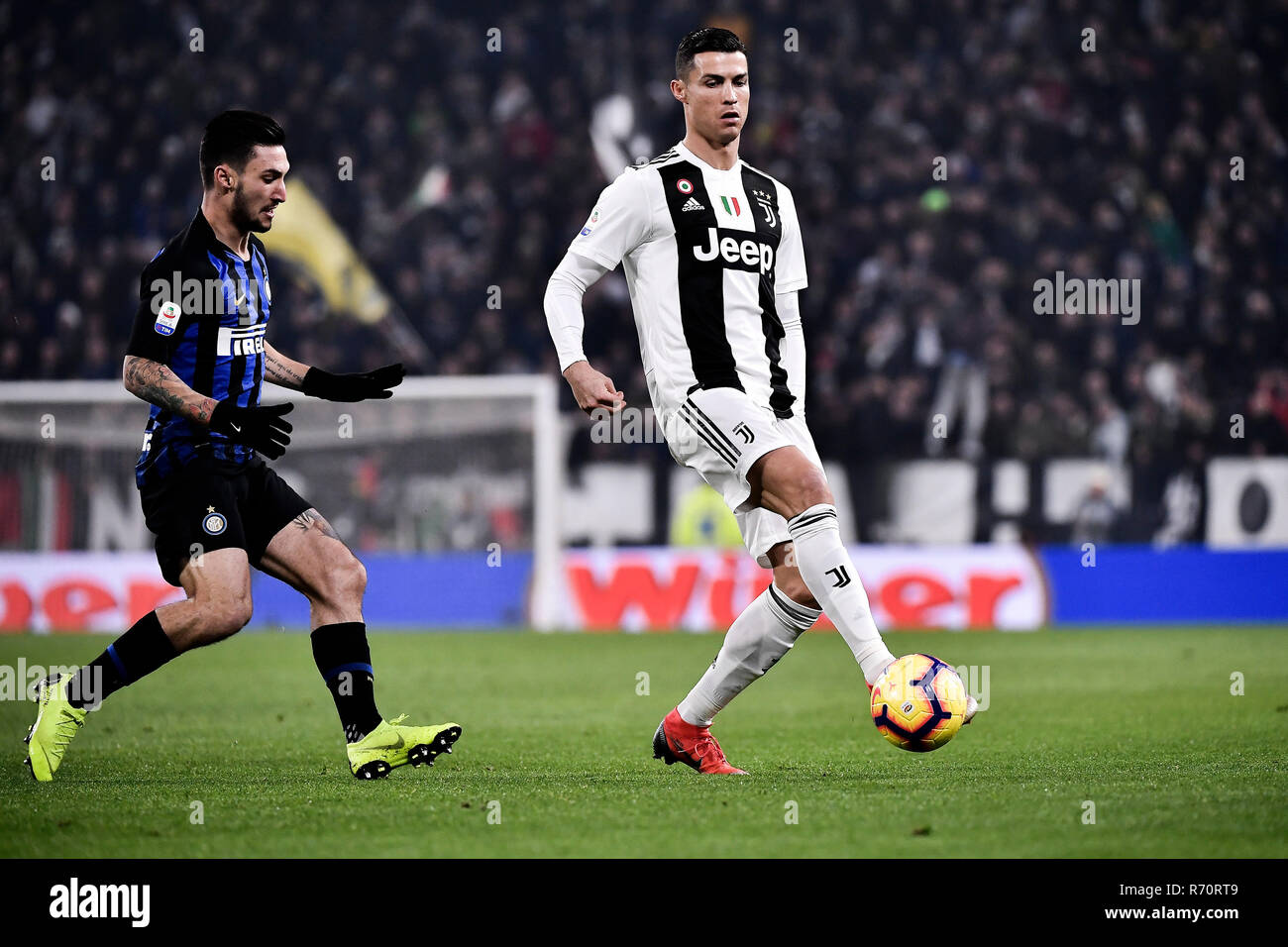 Turin Italy 7th December 2018 Juventus Vs Inter