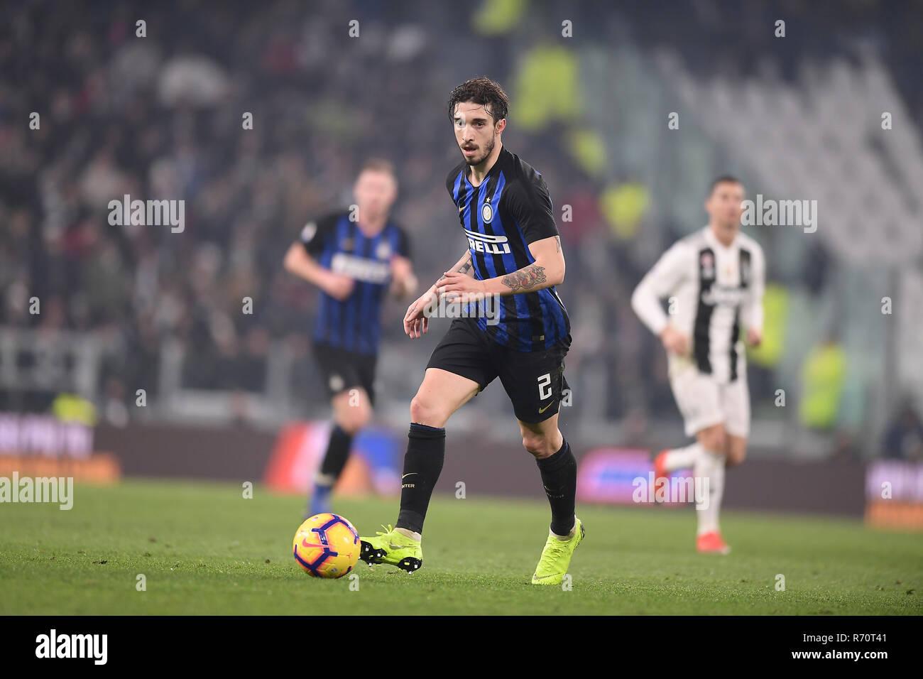 Turin Italy 7th December 2018 Fc Vs Inter Campionato Di Calcio Serie A Tim 2018 2019