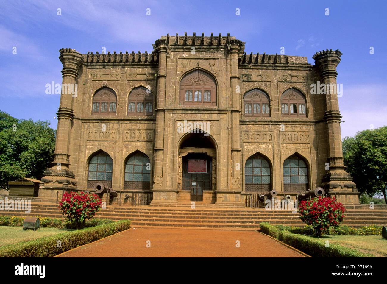 Nagar Khana museum at gol Gumbaz complex, bijapur, karnataka, india - Stock Image