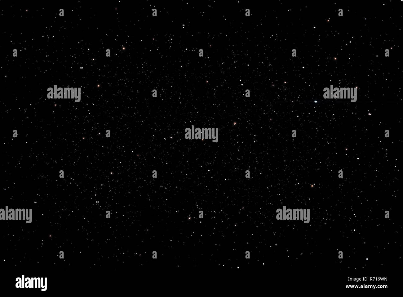 Stars in the night sky background texture milky way glow of stars. The sky is in the stars - Stock Image