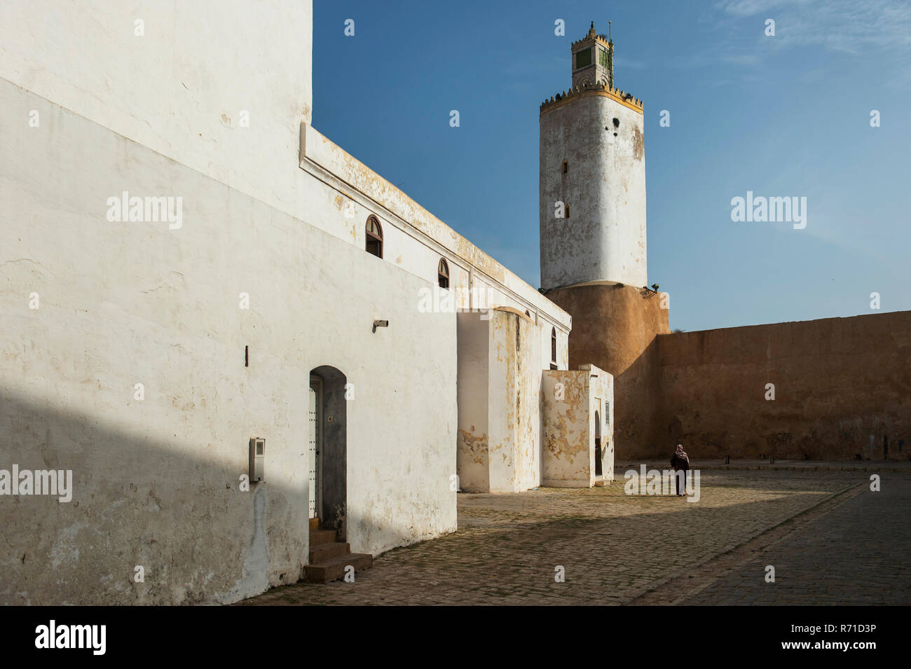 The Portuguese Cistern at El Jadida Stock Photo