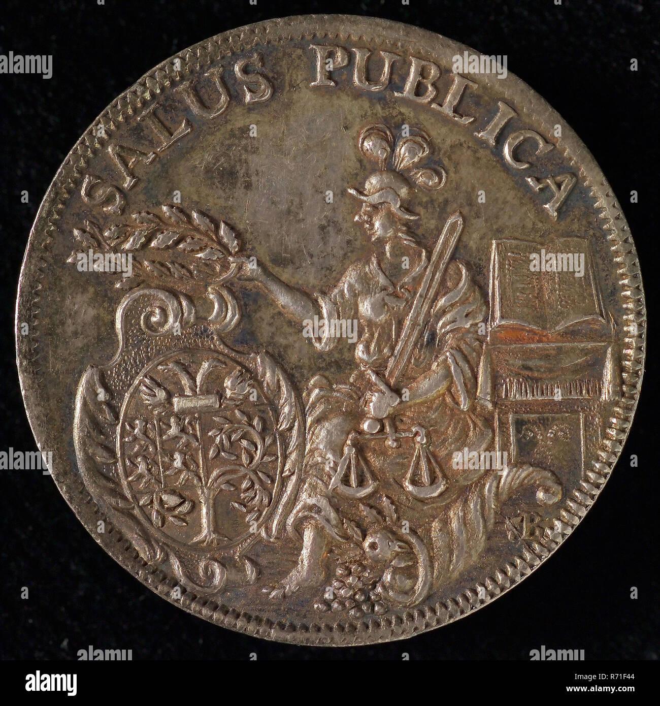 Tooling Medal from Den Bosch, tool penny coin identification