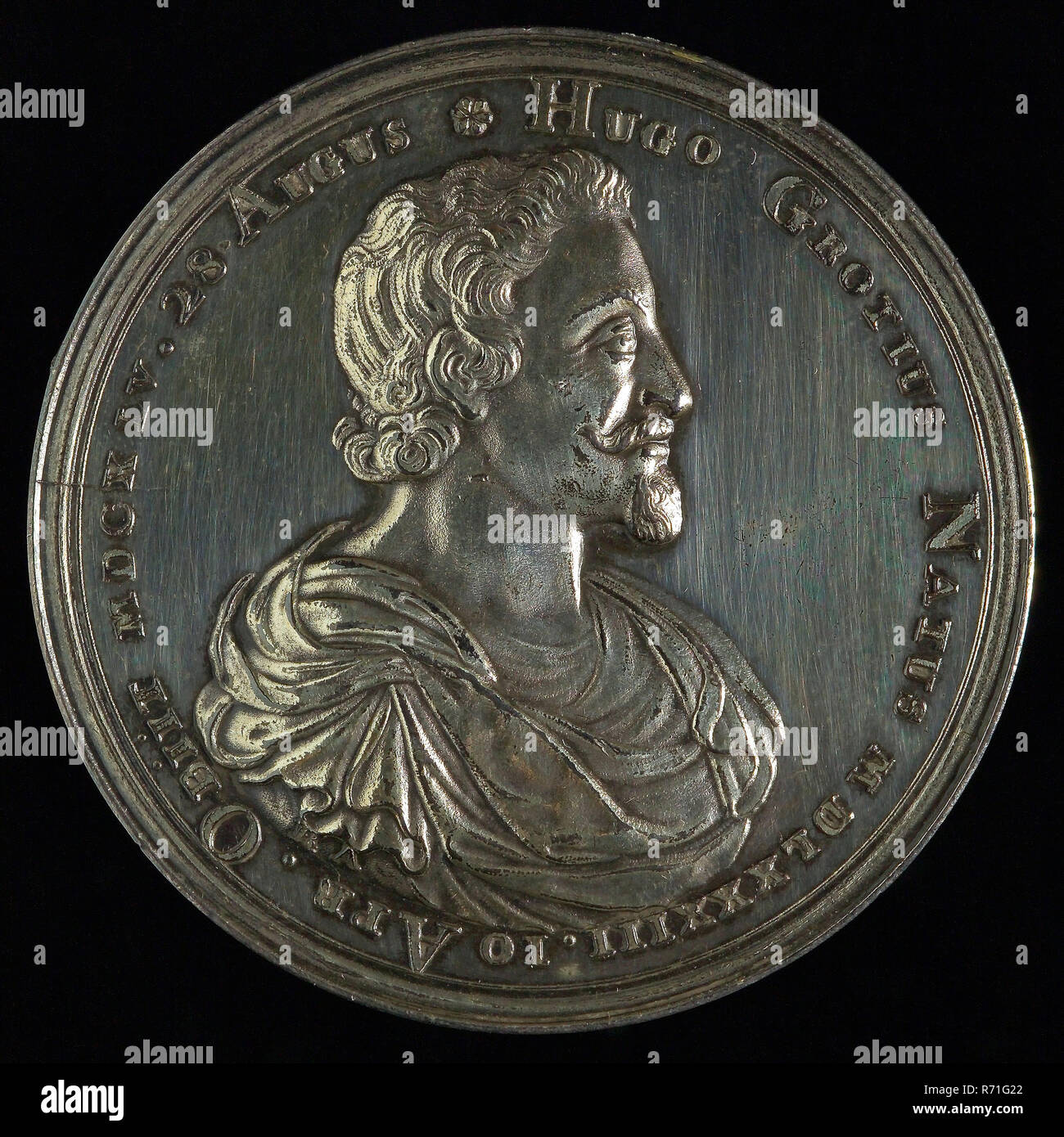 Reinier Arondeaux, Medal on the death of Hugo de Groot in