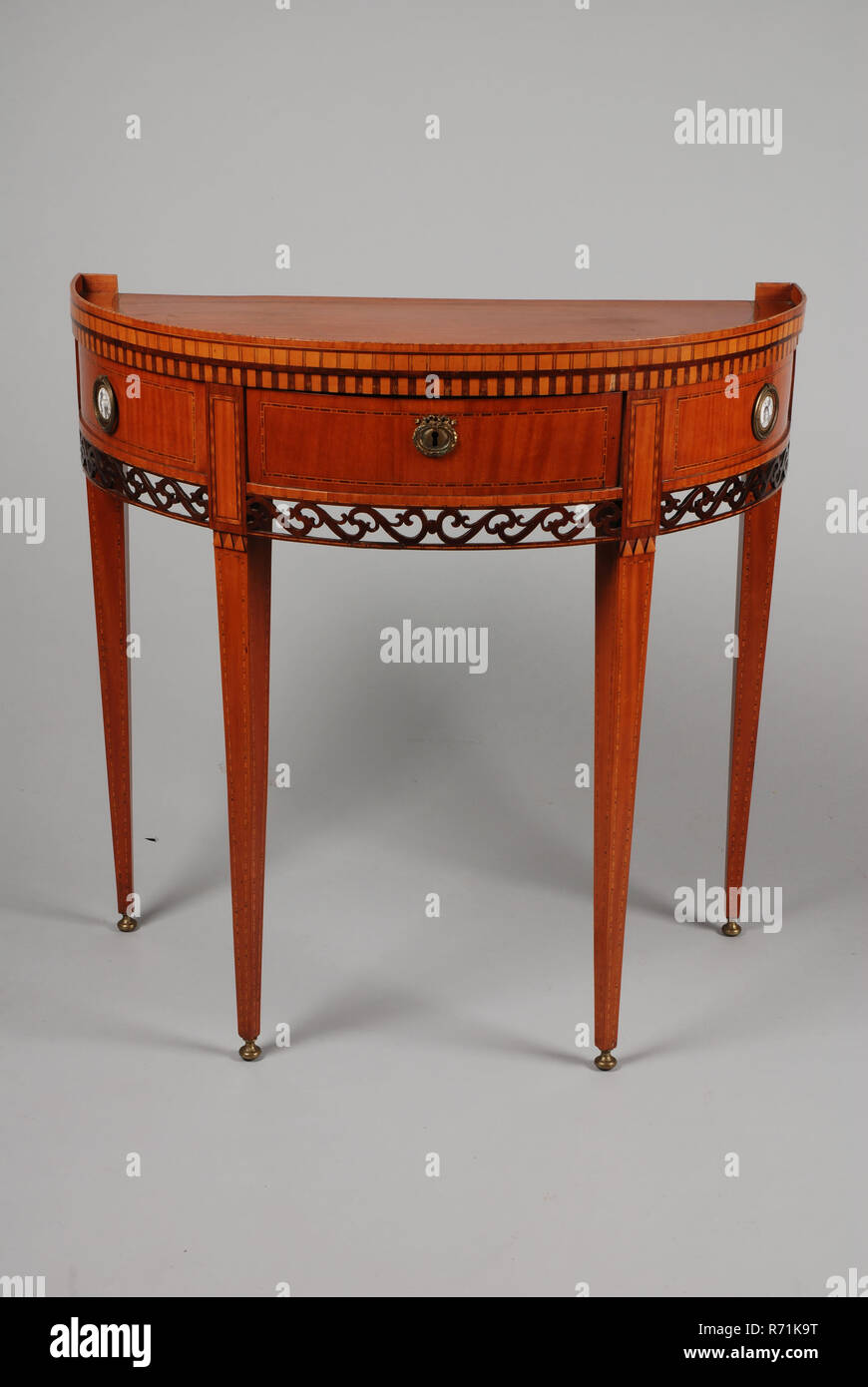 Louis Seize Half Moon Table Table Furniture Interior Design Wood