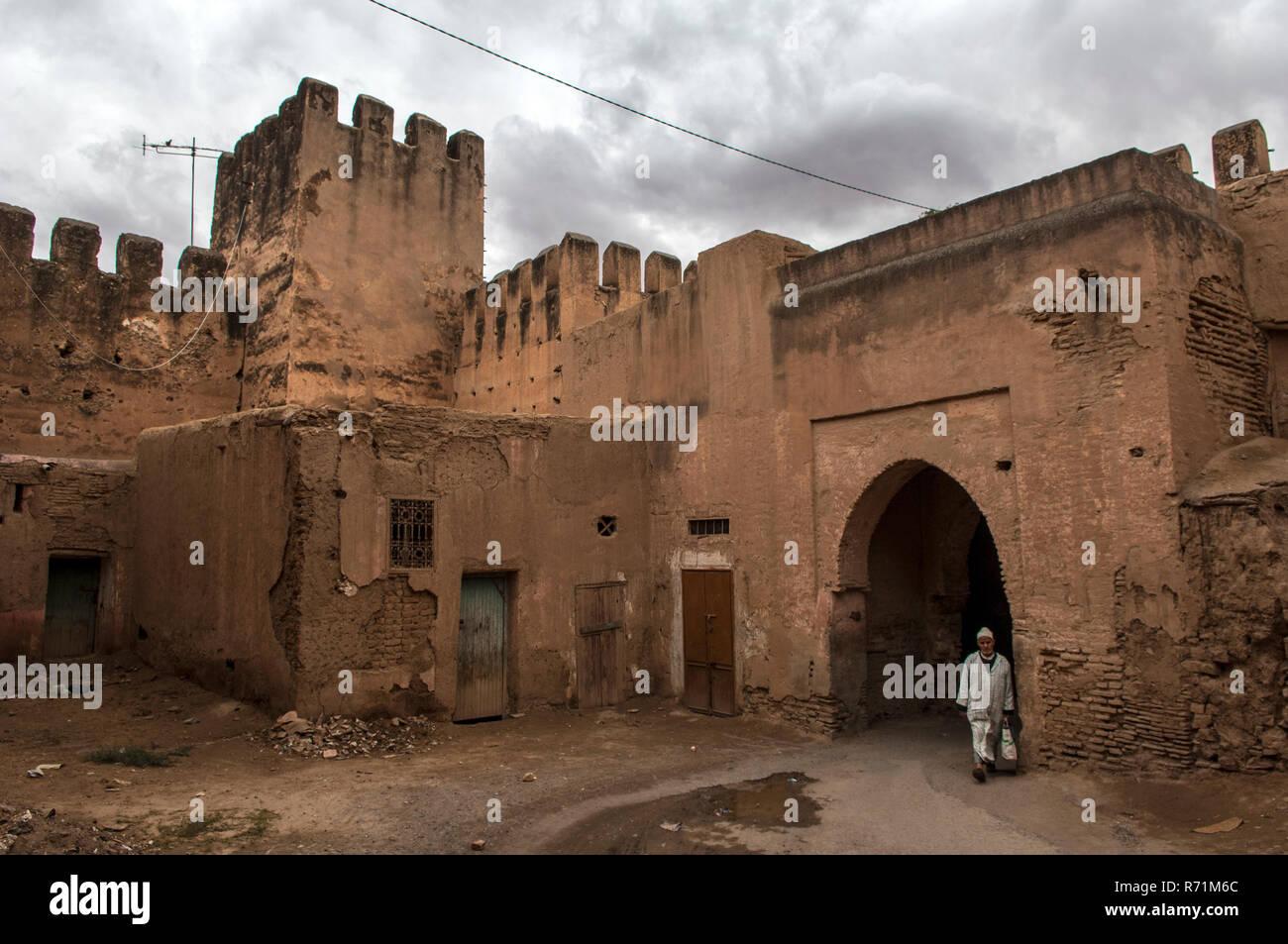 Medina, Taroudant, Souss Valley. Stock Photo