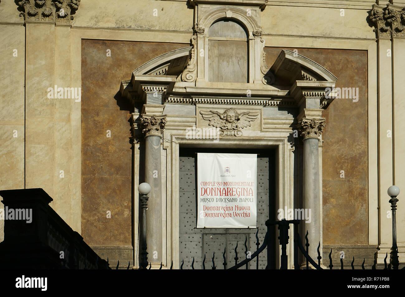 Museo Diocesano Napoli.Museo Diocesano City Of Naples Italy Stock Photo 228076892 Alamy