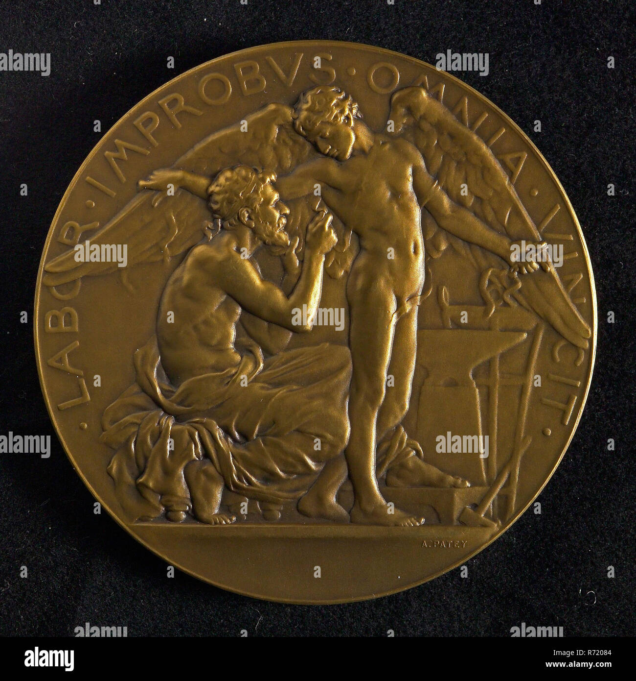 Auguste Patey (1855 - 1930), Medal on the tests with controllable