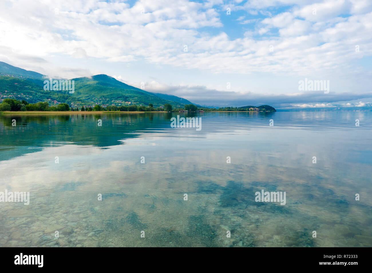 Lake Ohrid, Macedonia - Stock Image