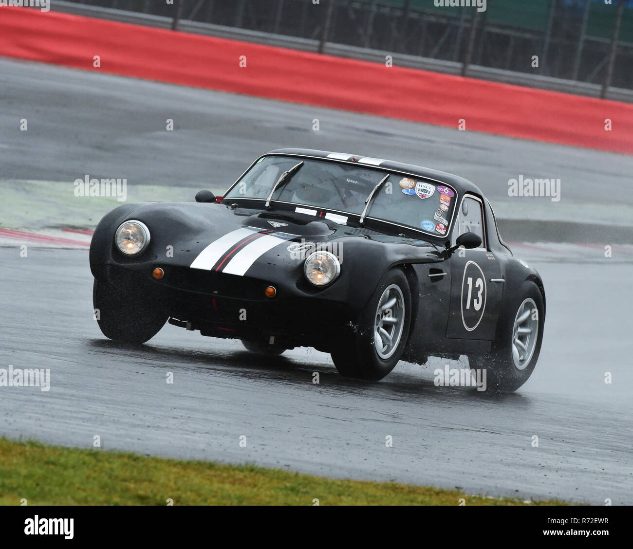 Peter Dod, Nathan Dod, TVR Griffith, Guards Trophy, Silverstone Classic 2015, Chris McEvoy, circuit racing, cjm-photography, classic cars, Classic Rac - Stock Image