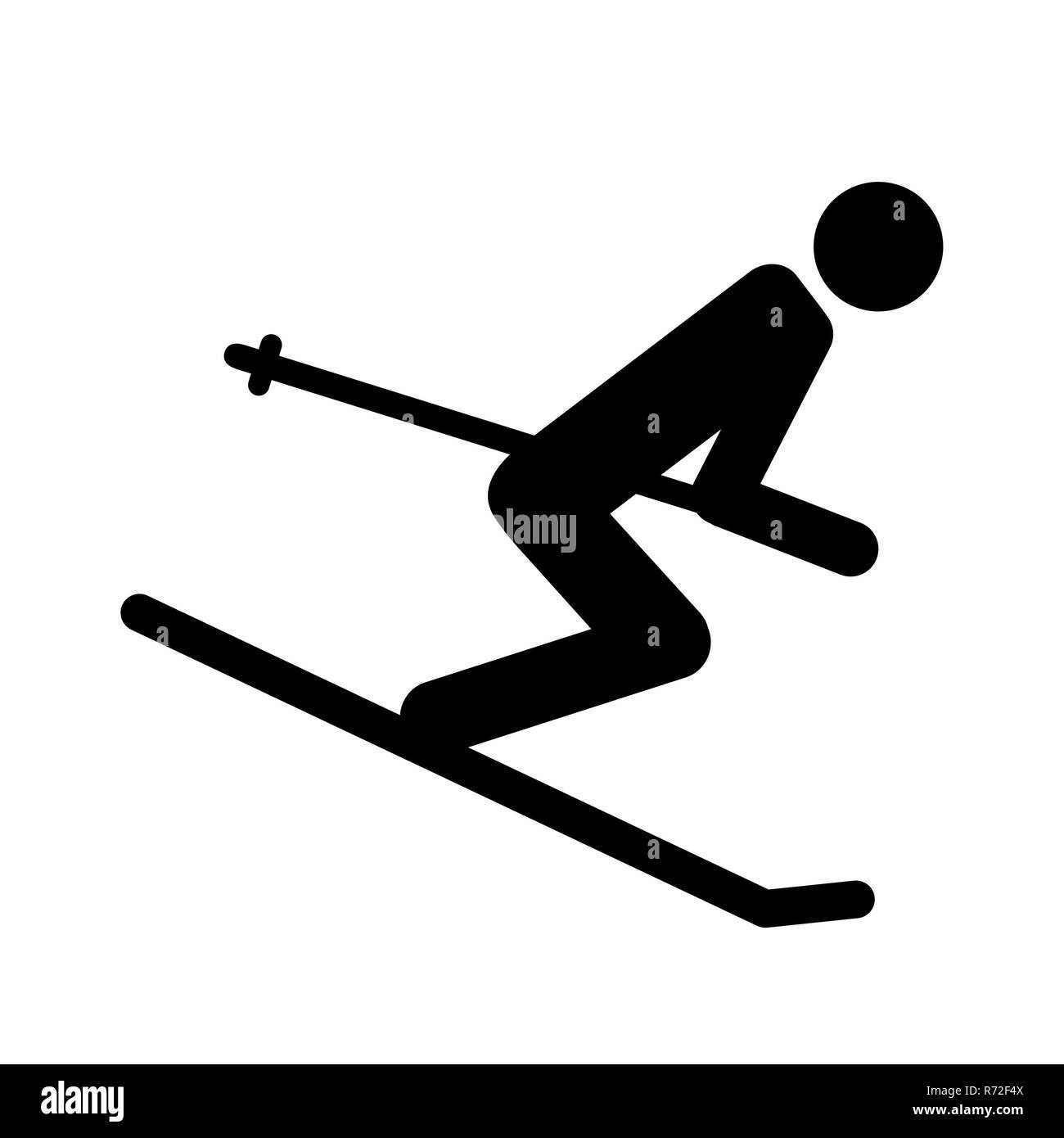 8f1e92bbe5b4 Snowboarding Pictogram Icon Stock Photos   Snowboarding Pictogram ...