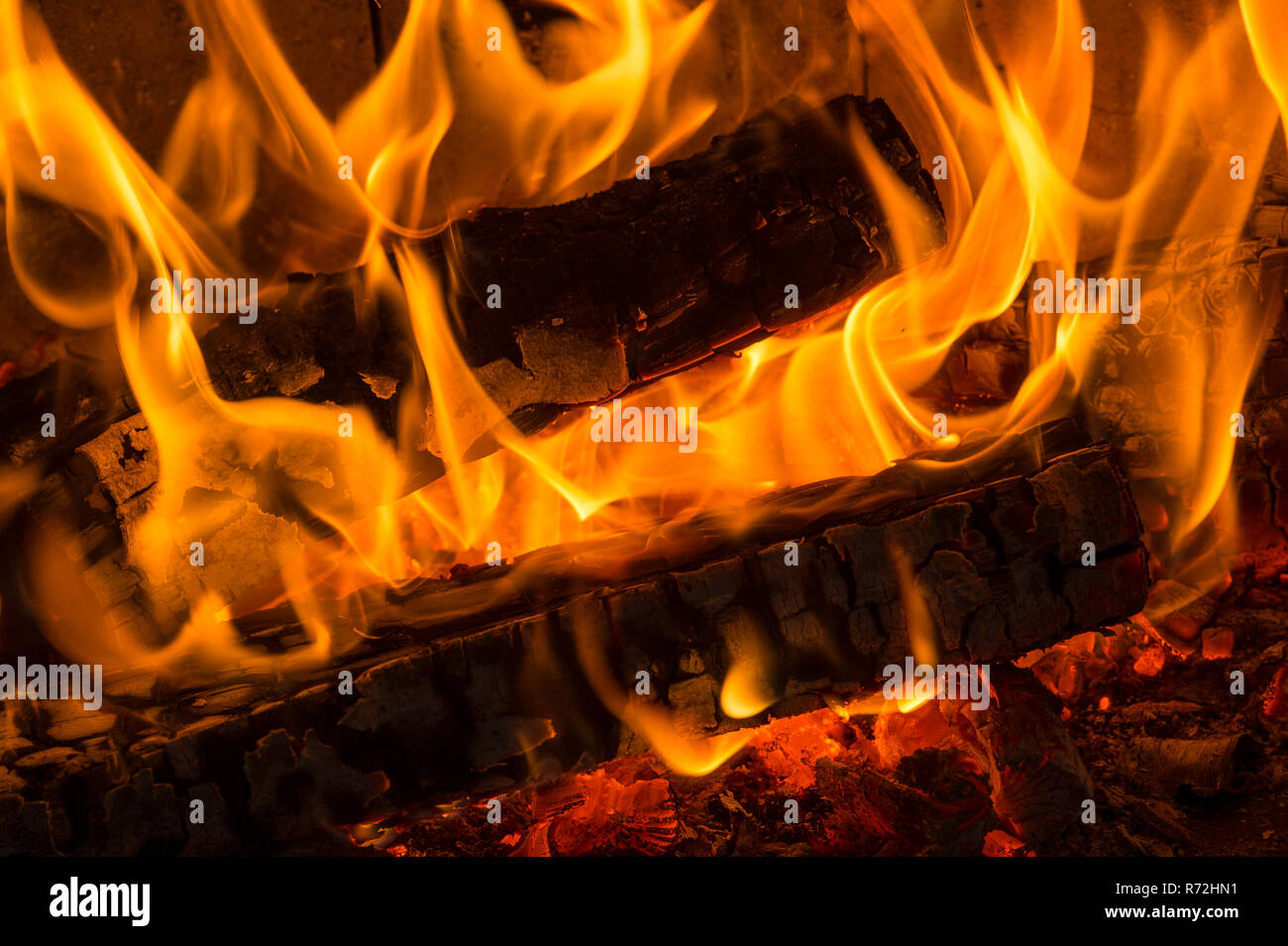 Flames - Stock Image