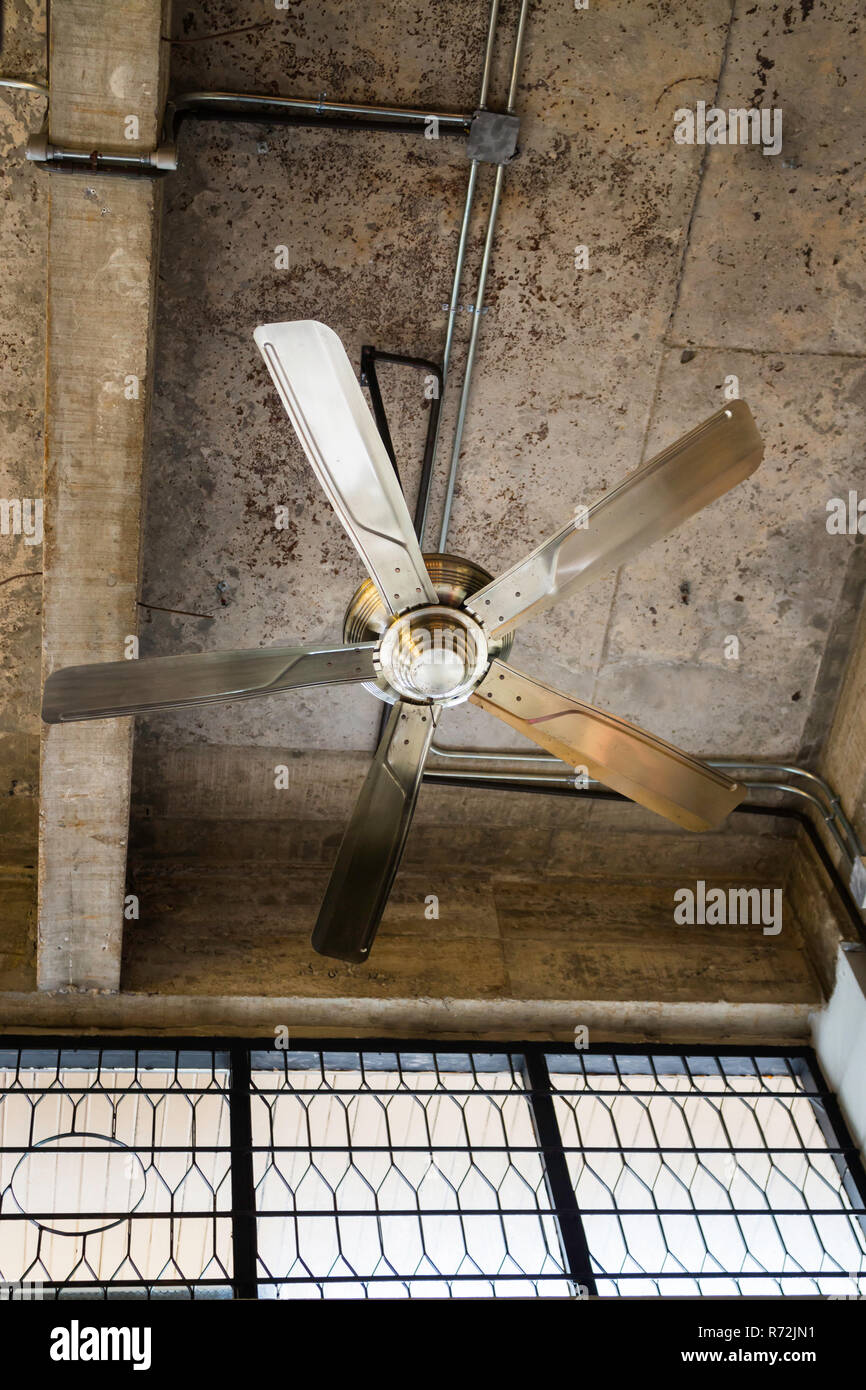 Ceiling Fan In Motion High Resolution Stock Photography And Images Alamy