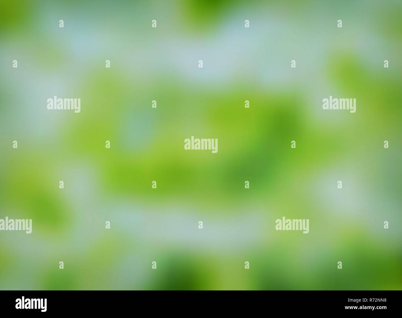 Abstract green blurred background. Nature gradient backdrop - Stock Vector