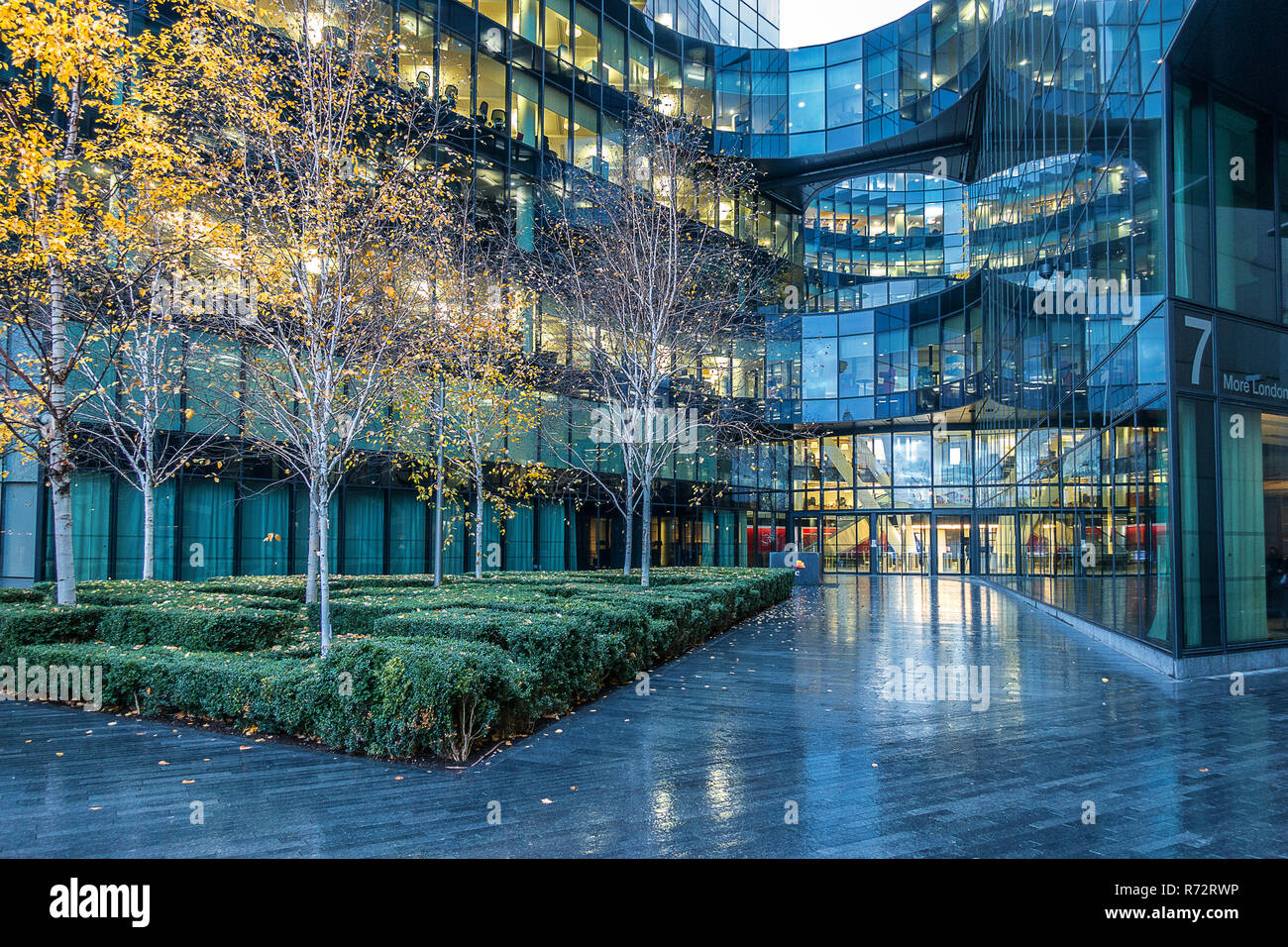 Price Waterhouse Coopers in More London riverside - Stock Image
