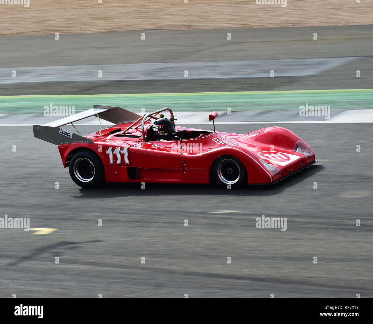 Rick Carlino, GRD S72, Can-Am 50 Interserie Challenge, Silverstone Classic 2016, Chris McEvoy, cjm-photography, Classic Racing Cars, historic racing c - Stock Image