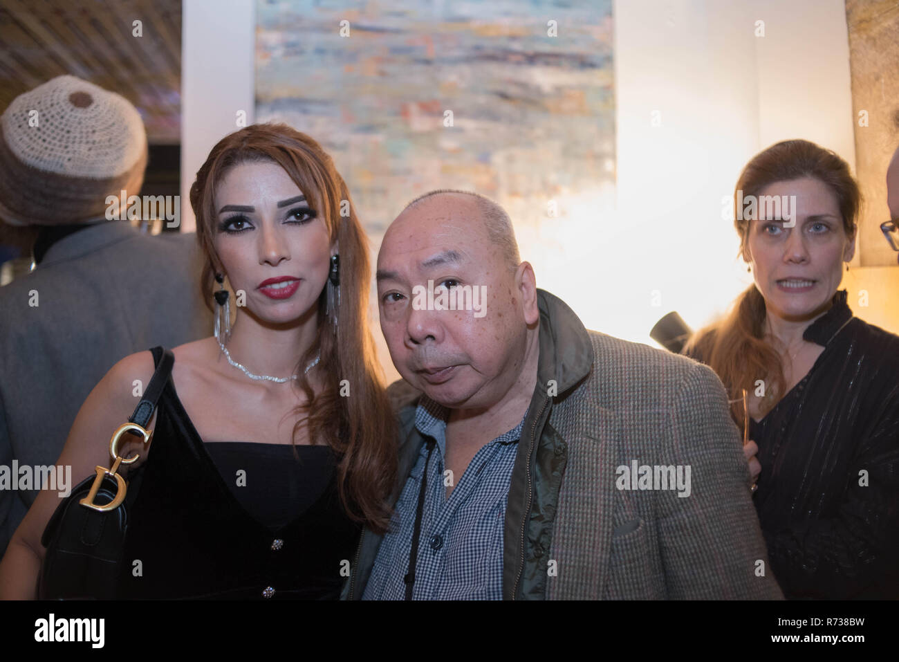 Showcase Thierry Cojan at the Place Art Parfum in Paris France Stock Photo