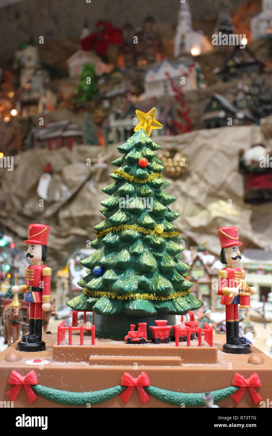 Miniature Christmas Village High Resolution Stock Photography And Images Alamy