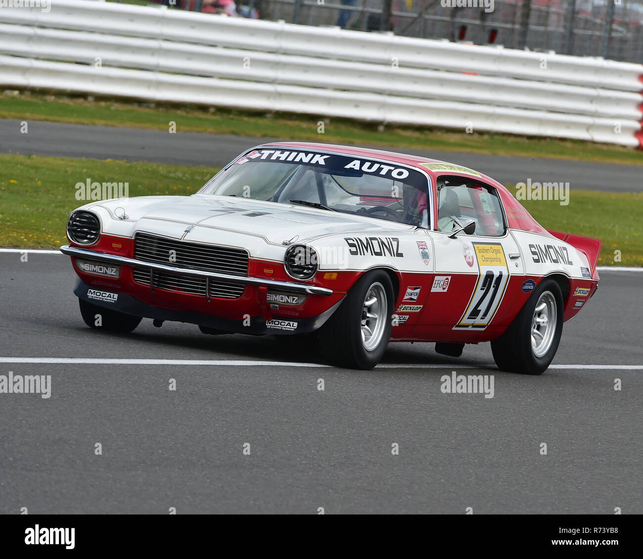 Graham Bryant Chevrolet Camaro Z28 Historic Touring Car