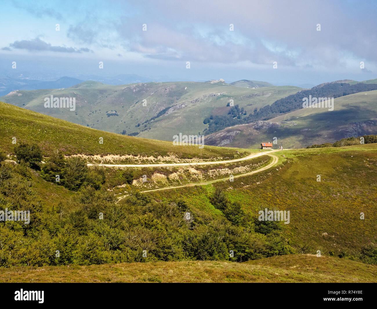 Mountain Hut Napoleon Route Stock Photo 228146590 Alamy