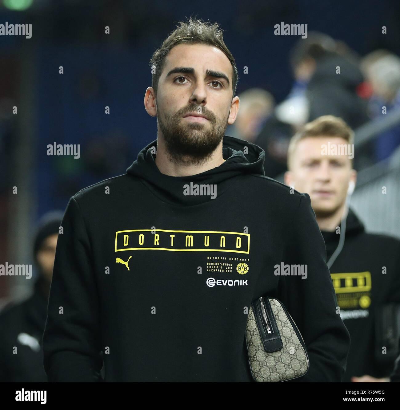 firo: 08.12.2018 Football, 1.Bundesliga, Season 2018/2019 FC Schalke 04 - Borussia Dortmund Paca Alcacar   usage worldwide - Stock Image