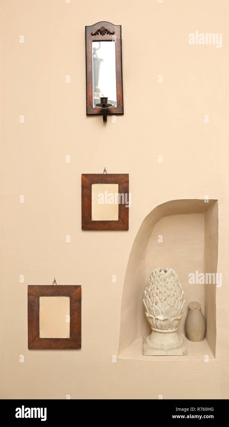 Wall Decoration - Stock Image