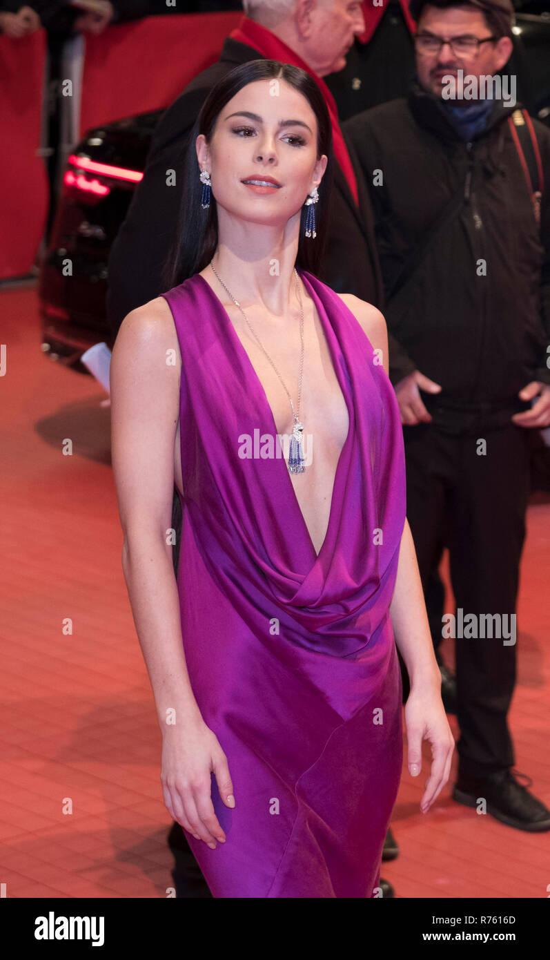 Lena Meyer-Landrut - Premiere des Spielfilms '3 Days in Quiberon/ 3  Tage in Quiberon', Berlinale 2018, 18. Februar 2018, Berlin. - Stock Image