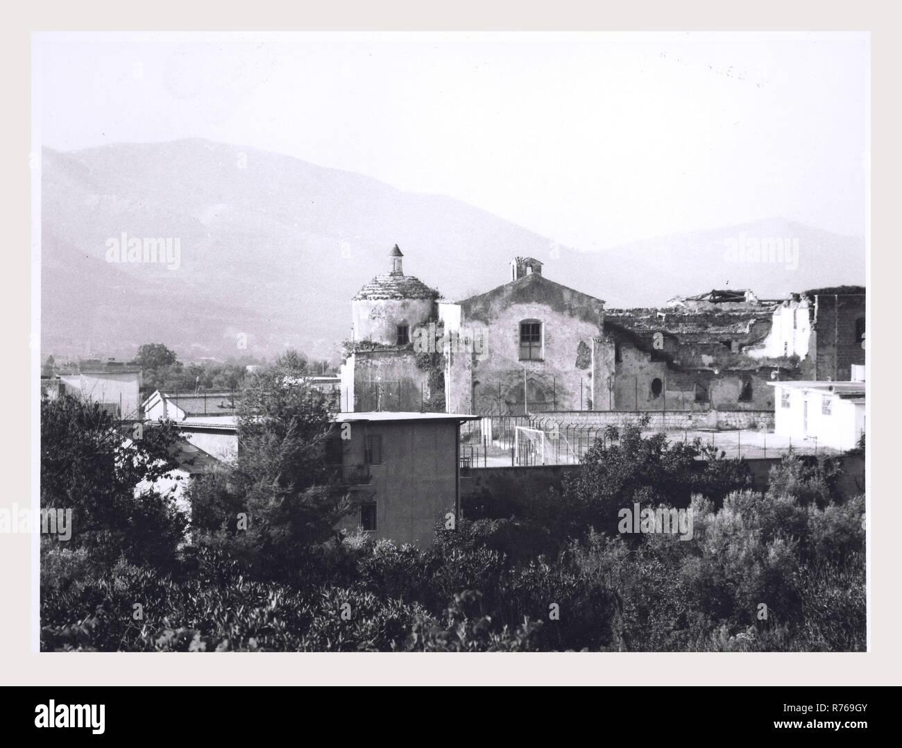 Campania Caserta Sessa Aurunca unidentified church, this is my Italy, the italian country of visual history, Exterior views Stock Photo