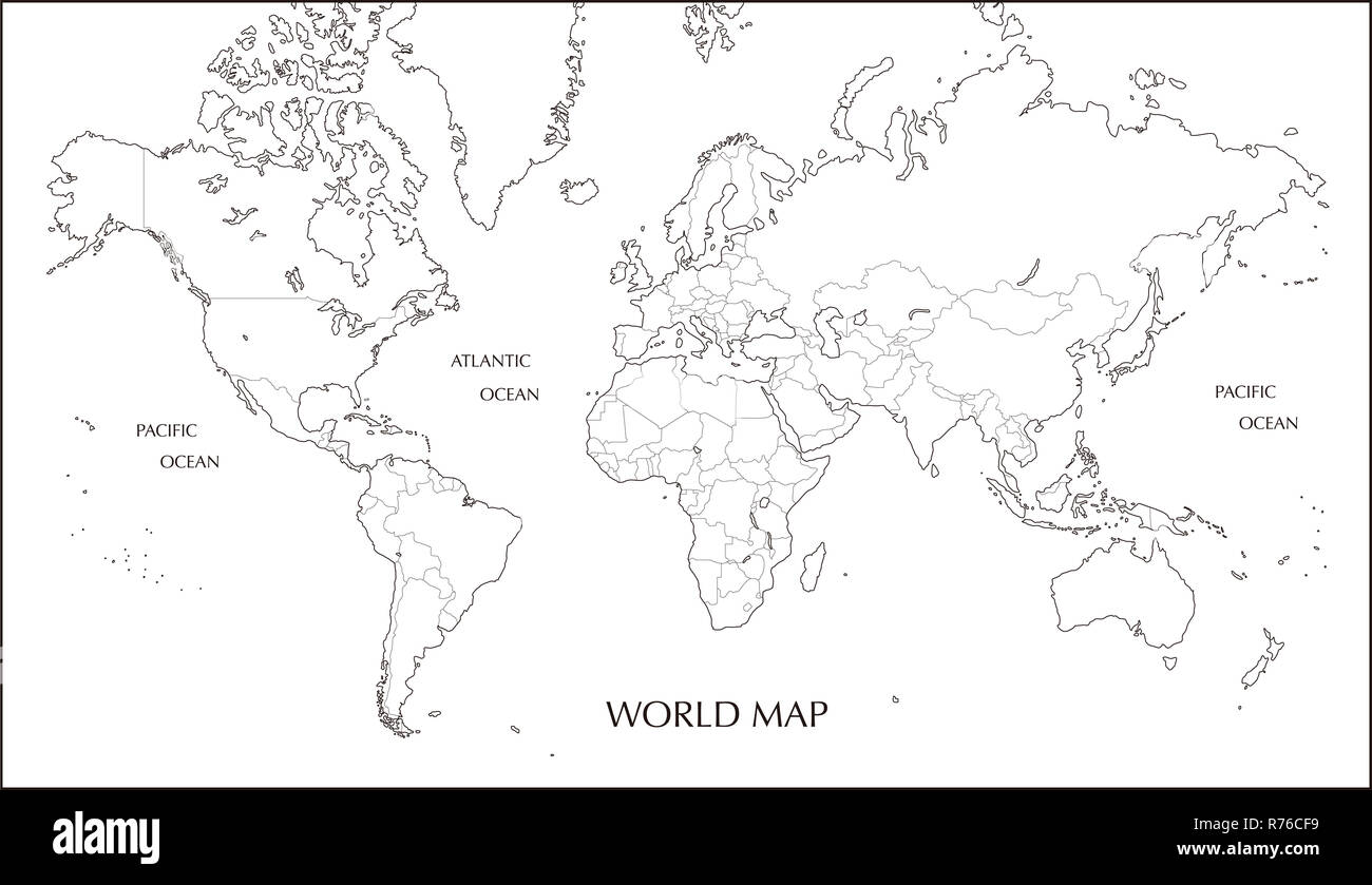 Mercator Projection Map Stock Photos & Mercator Projection ... on proportional symbol map, isoline map, azimuthal map, ortelius map, conical map, thematic map, gall peters map, fuller map, peters projection map, chloropleth map, flow line map, cylindrical map, latitude map, polar map, robinson map, conic map, mollweide projection map, gnomic map, equal area map, physical map,