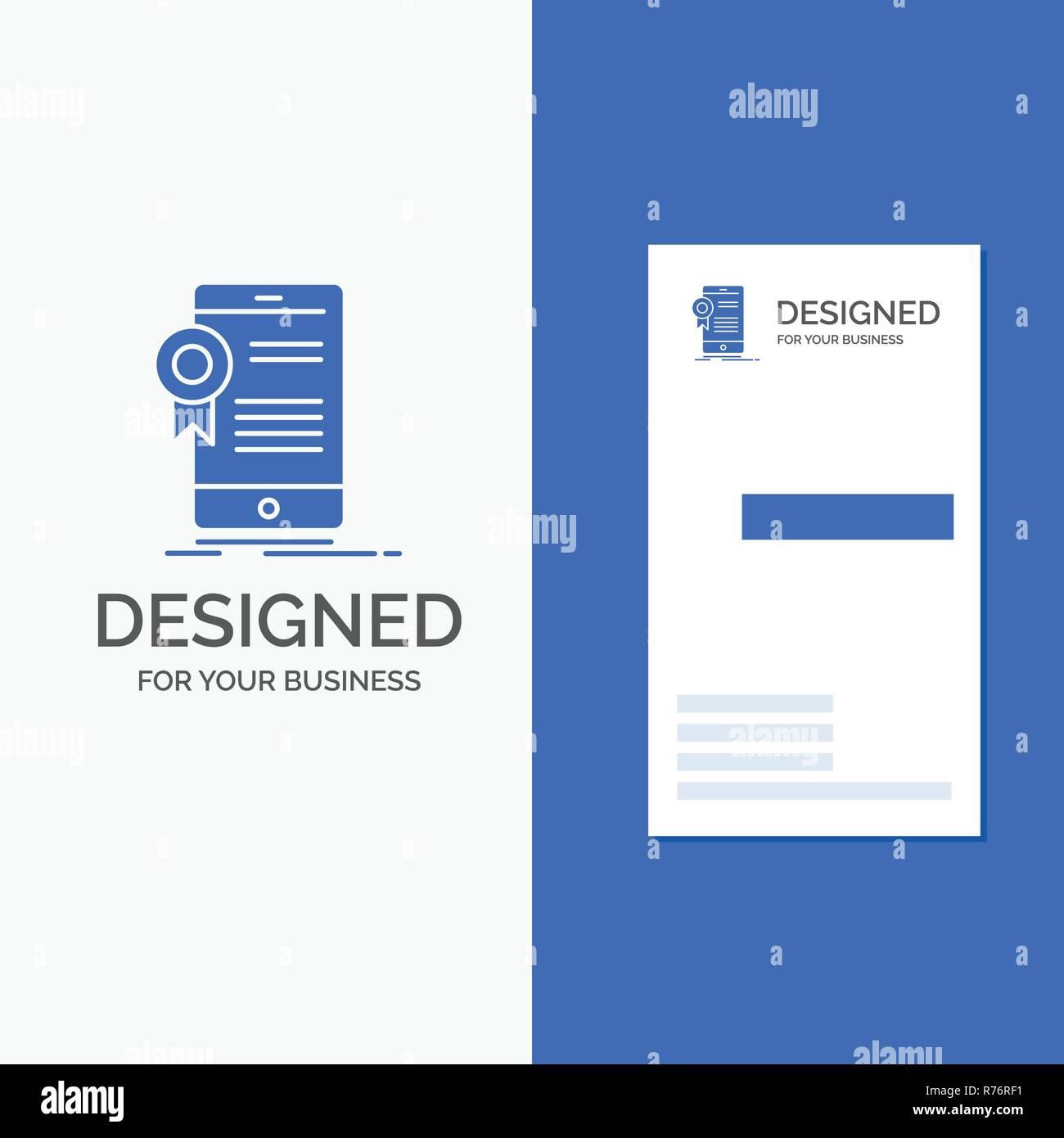 Business Logo For Certificate Certification App Application