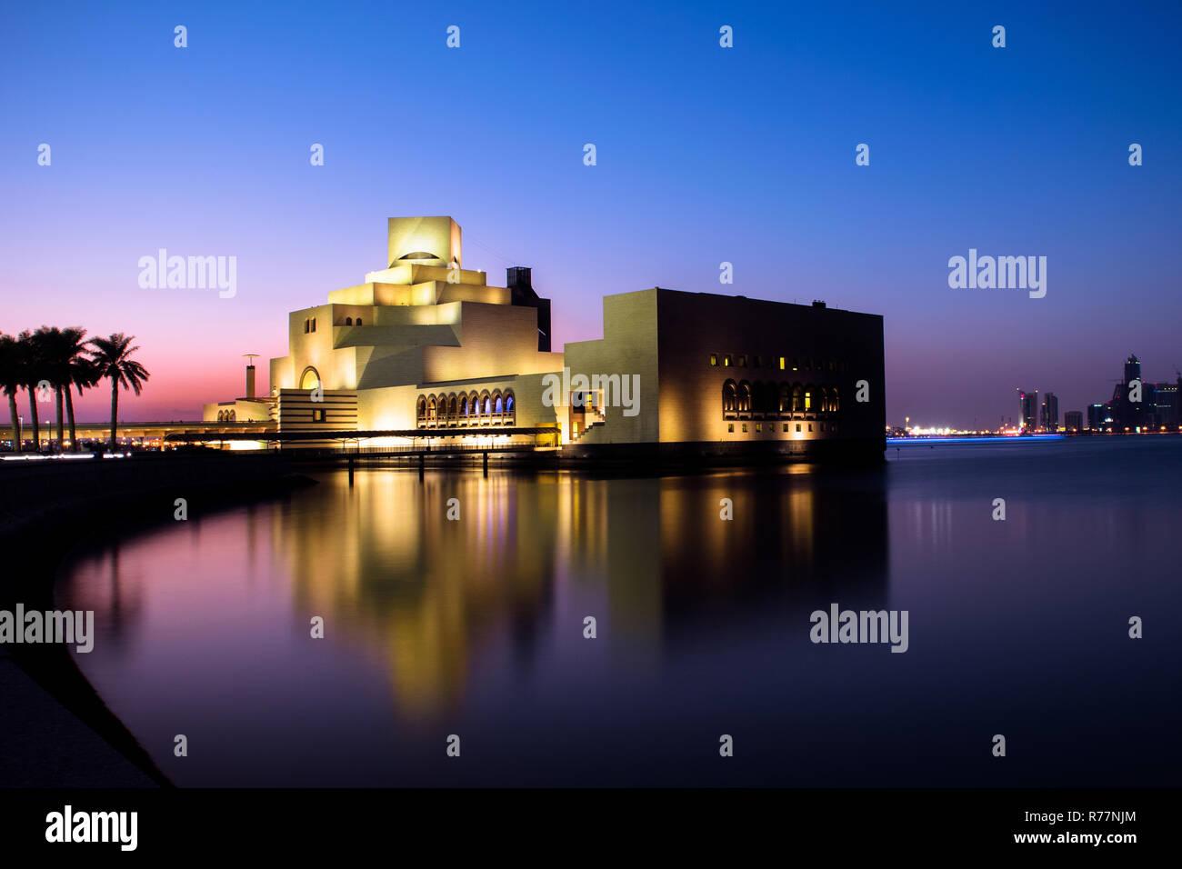 The Islamic museum in Qatar - Stock Image