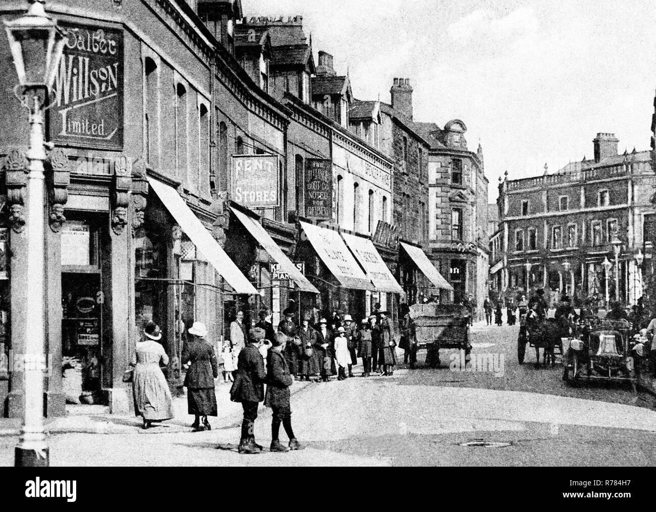 Fisher Street, Workington - Stock Image