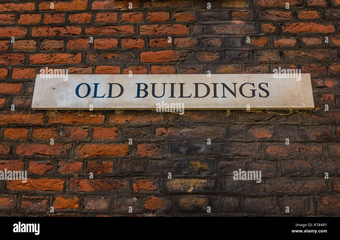 London November 2018. A view of signs at Lincolns inn Fields chambers in London - Stock Image