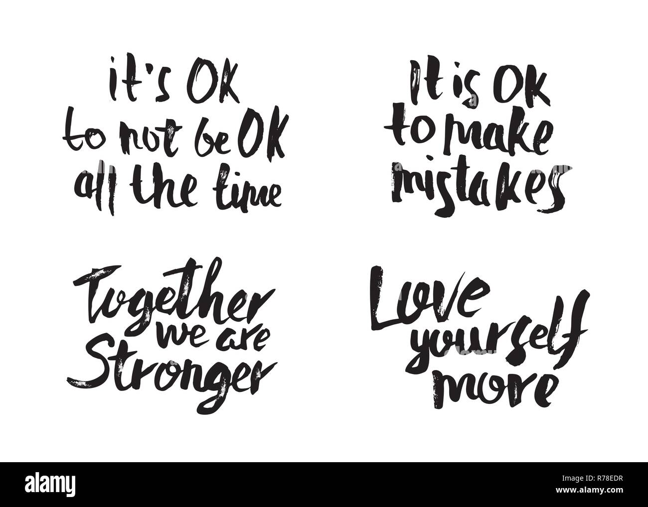 Love Quotes Black And White Stock Photos Images Alamy