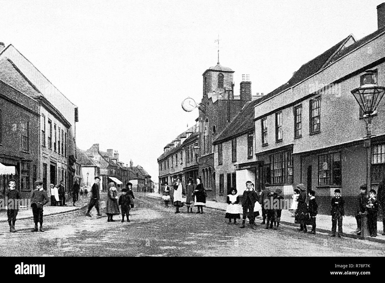 High Street, Milton - Stock Image