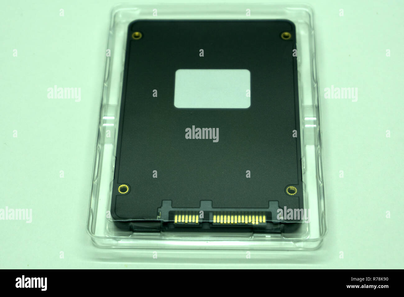 Solid State Drive SSD icon interface laptop - Stock Image