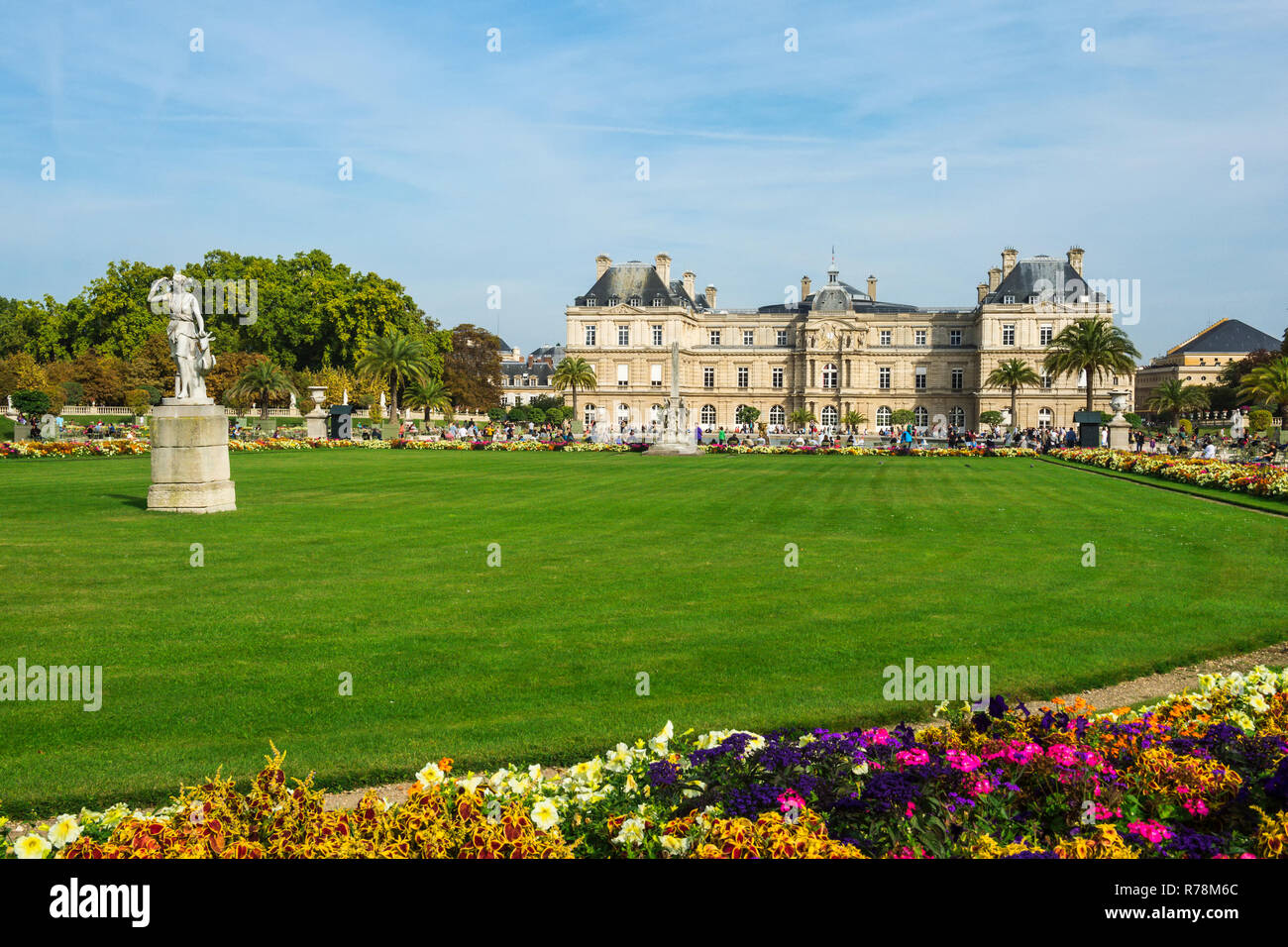 Luxembourg Gardens Paris France Stock Photos & Luxembourg ...