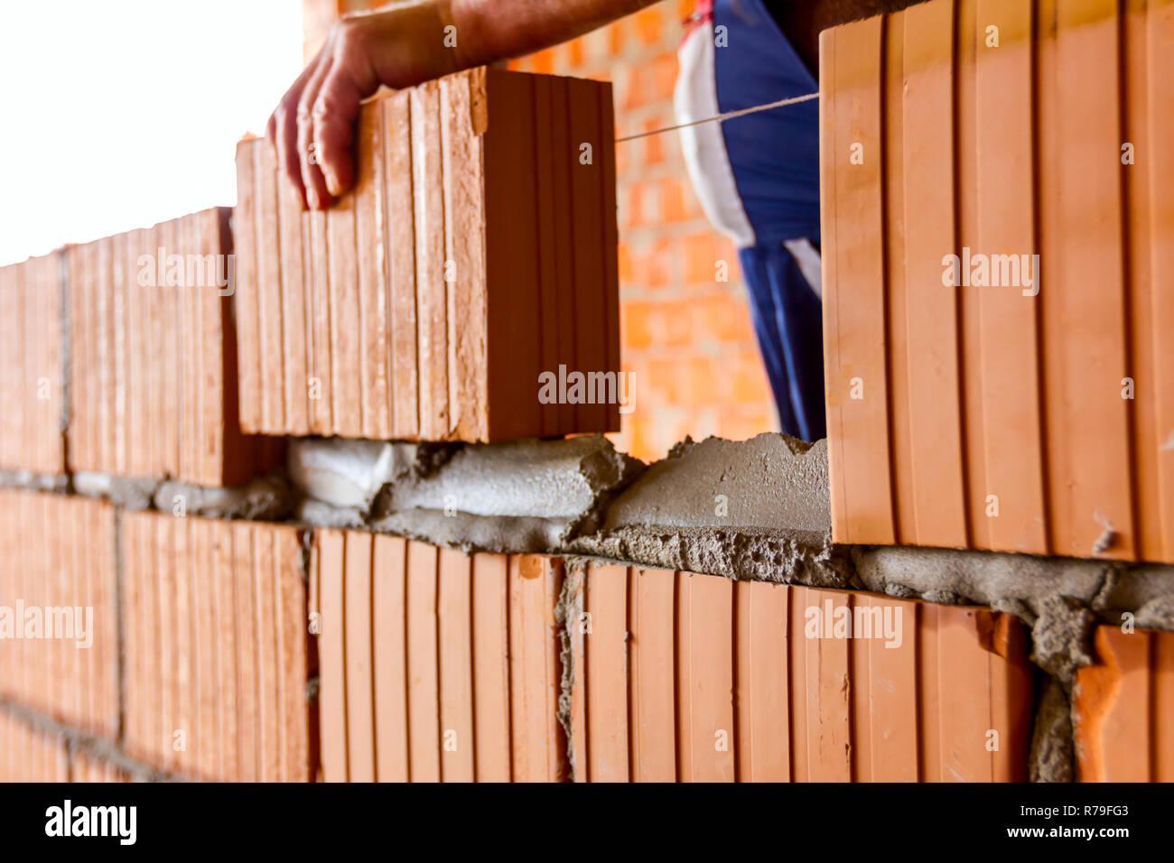 Straight bricklayer recent grad