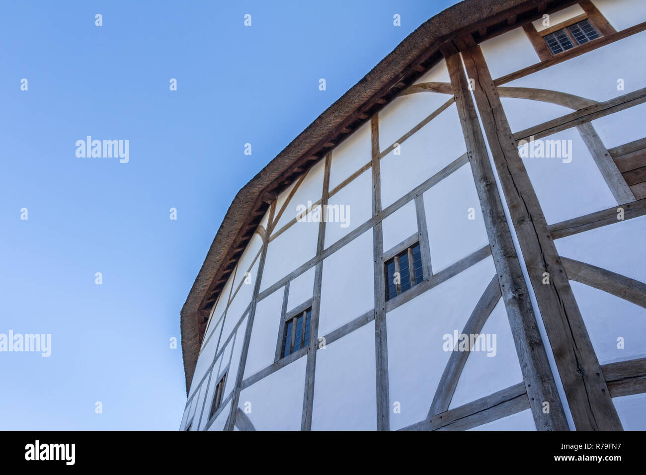 Globe Theater in London, United Kingdom - Stock Image