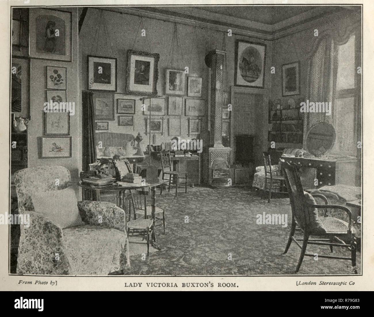 19th Century Eastern European Interior Design Stock Photos