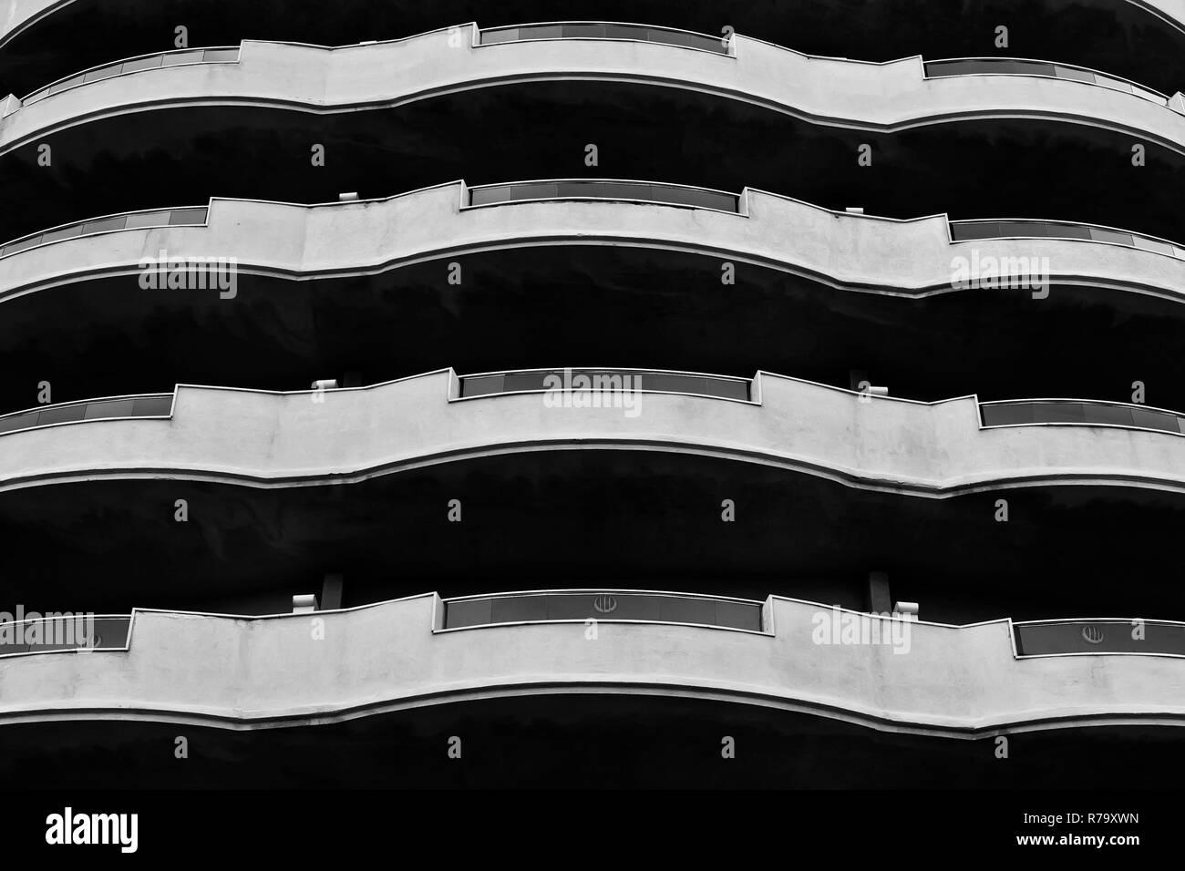Balcony Abstract - Stock Image