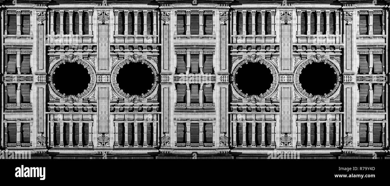 Balluta Buildings - Stock Image