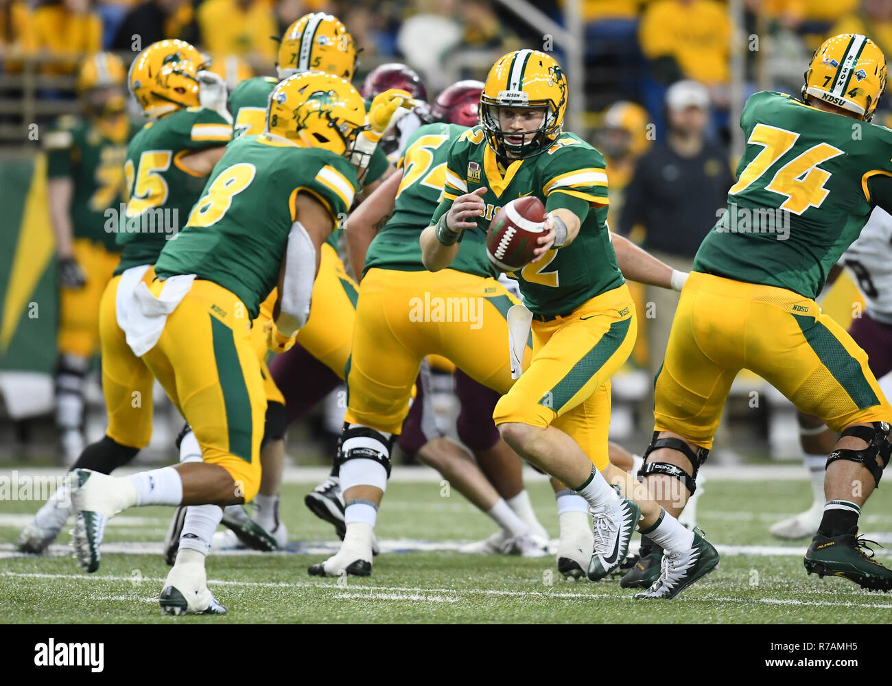 December 8 2018 North Dakota State Bison Quarterback Easton Stick