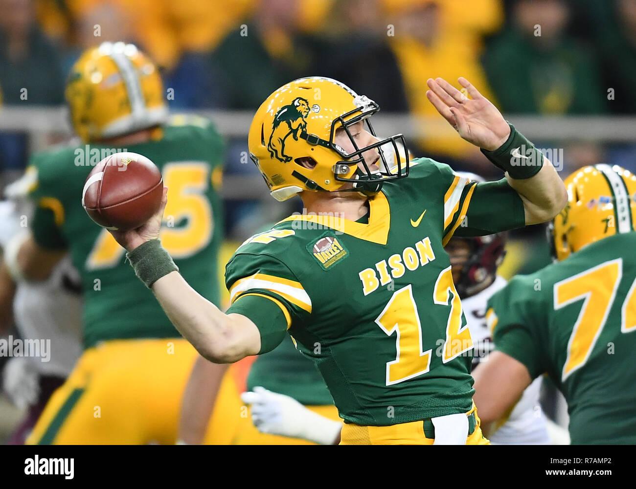 December 8 2018 North Dakota State Bison Quarterback Easton Stick