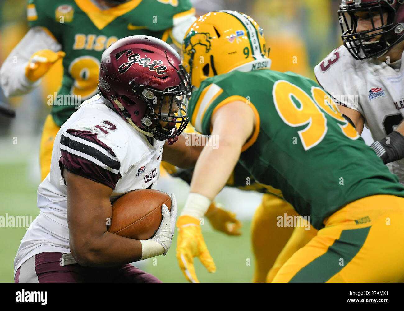 official photos 36bd1 617e4 December 8, 2018  Colgate Raiders running back James Holland (2) rushes the