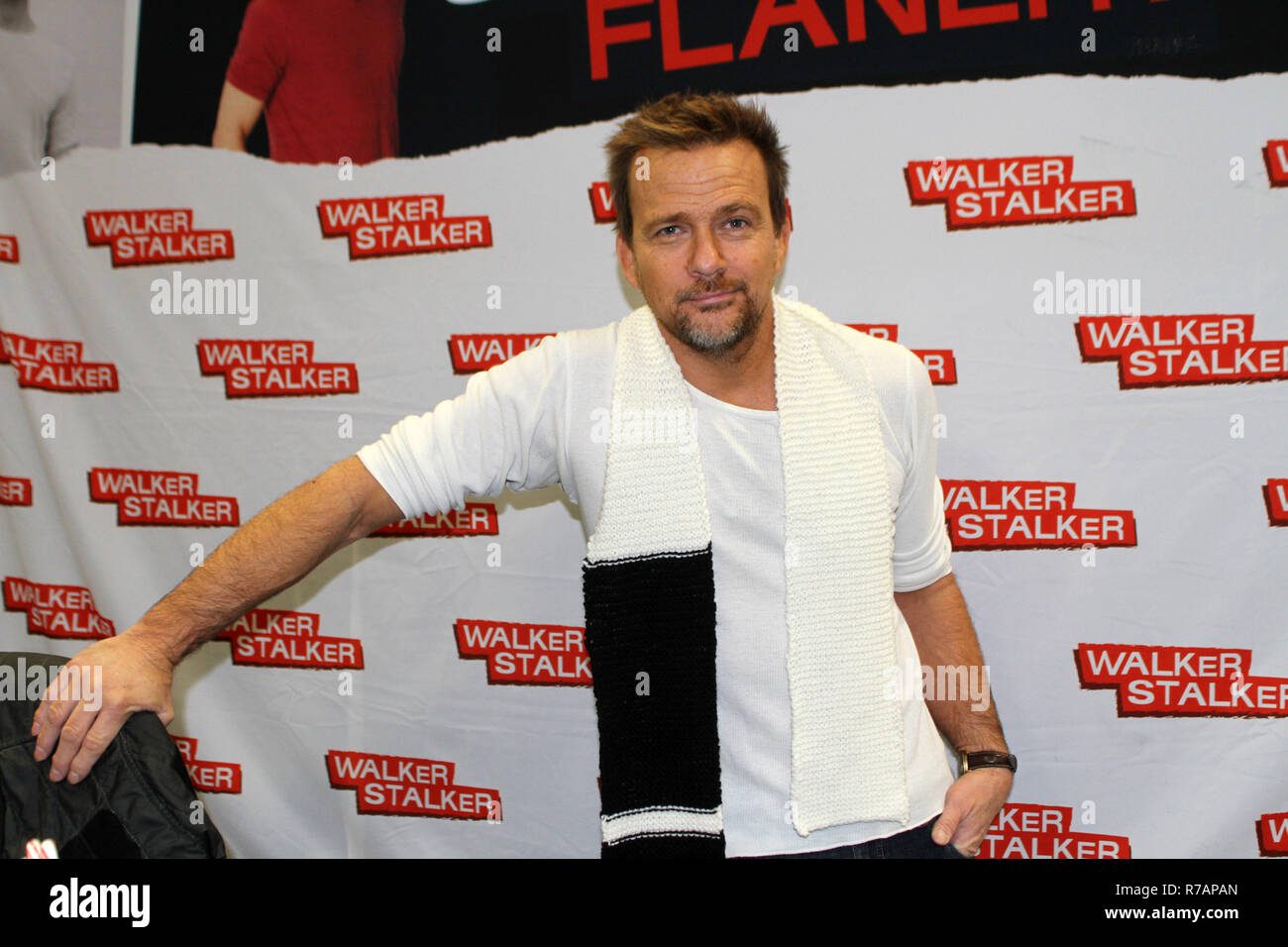 USA. 8th Dec, 2018. Walker Stalker Con held at the New Jersey Convention and Expo center in Edison New Jersey.Sean Partick Flanery Credit: Bruce Cotler/Globe Photos/ZUMA Wire/Alamy Live News - Stock Image