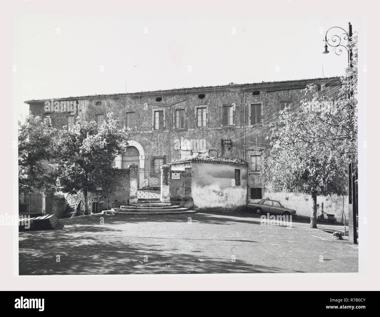 Lazio Frosinone Arpino Castello, this is my Italy, the italian country of visual history, Medieval Exterior views Stock Photo