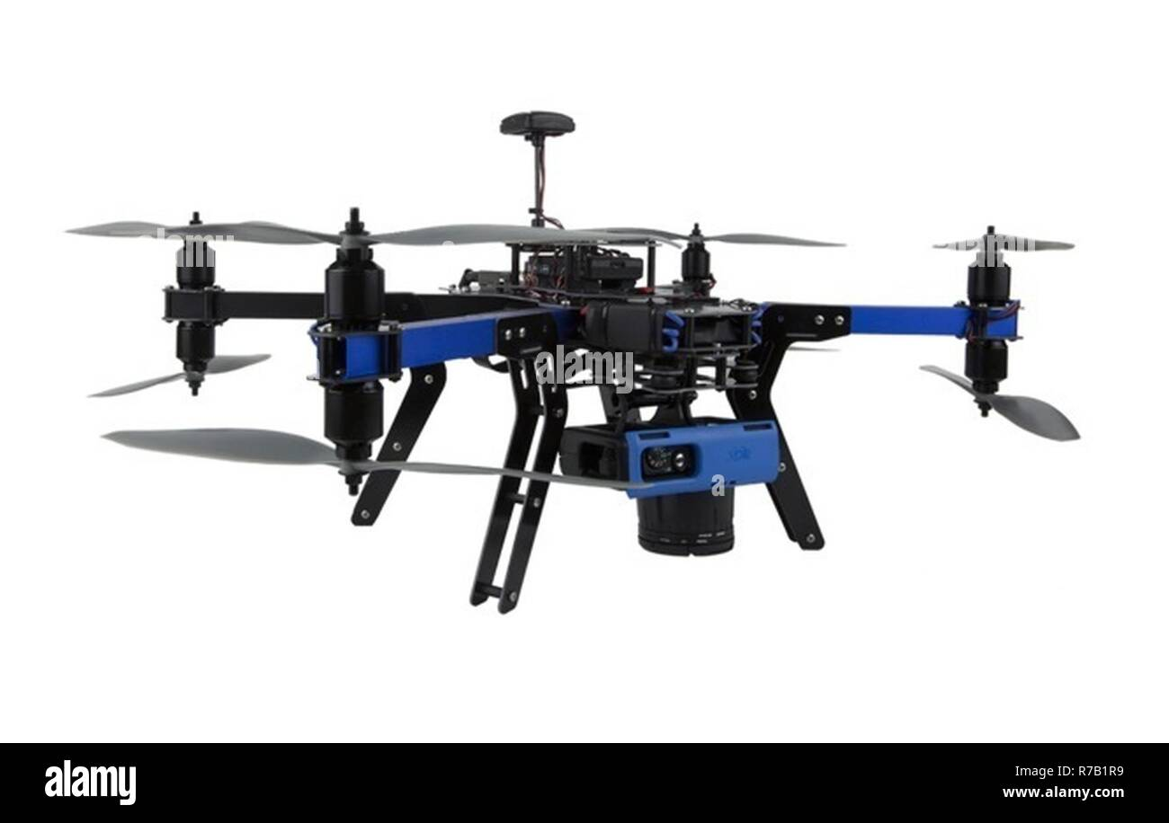 A 3 D Robotics X 8m Quadcopter Similar To The Types Of Unmanned